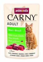 Animonda Carny Adult nauta ja strutsi 85g