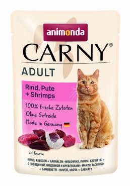 Animonda Carny Adult nauta, kalkkuna ja rapu 85g