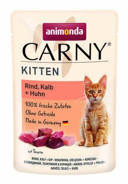 Animonda Carny Kitten nauta & strutsi 85g