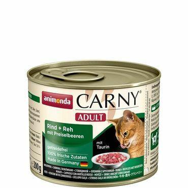 Animonda Carny Adult nauta&peura 200g
