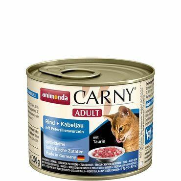 Animonda Carny Adult nauta + turska 200g