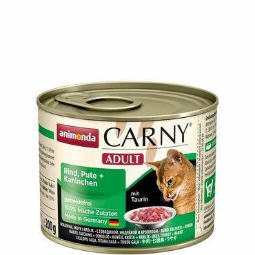 Animonda Carny Adult nauta,kalkkuna&kani 200g