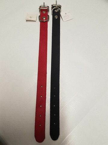 Nahka leveä peruspanta 40cm (lev. 2,5cm)