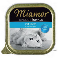 Miamor Ragout Royale Cream 100g folio, täysrehu kissalle