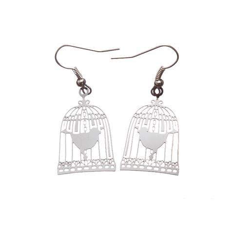 Kauniit lintuhäkki-korvakorut