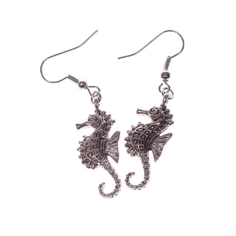 Delicate Seahorse Earrings
