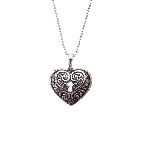 Heart lock necklace koruharakka heart lock necklace aloadofball Gallery