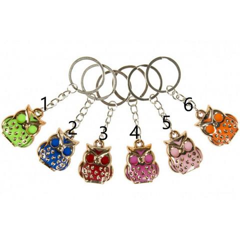 Pöllö-avaimenperä (eri värejä)