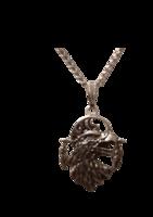 Voimaeläin kotka-kaulakoru