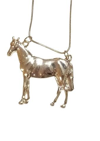 Tyylikäs hevonen-kaulakoru