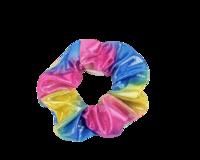 Värikäs scrunchie / hiusdonitsi