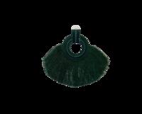 Vihreät tassel korvakorut