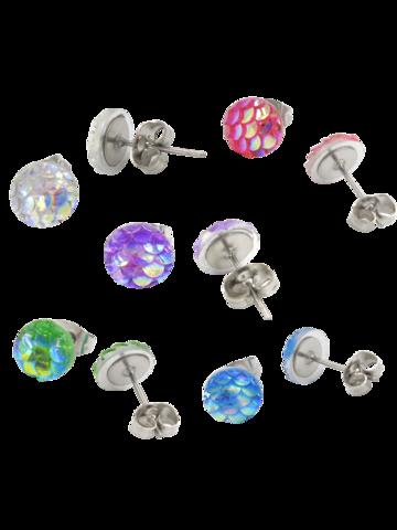Neito-nappikorvikset (eri värejä)