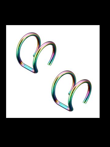 Rustokorut 2kpl/pkt (eri värejä)