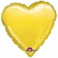 Foliopallo, keltainen sydän