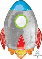 Foliopallo, avaruusraketti