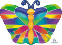 Foliopallo, värikäs perhonen