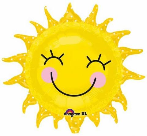Ilahduttava aurinko foliopallo