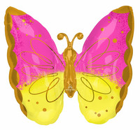 Kaunis perhonen foliopallo