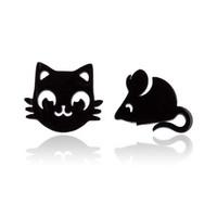 Kissa ja hiiri korvakorut