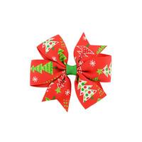 Hiusklipsi joulukuuset - punainen -