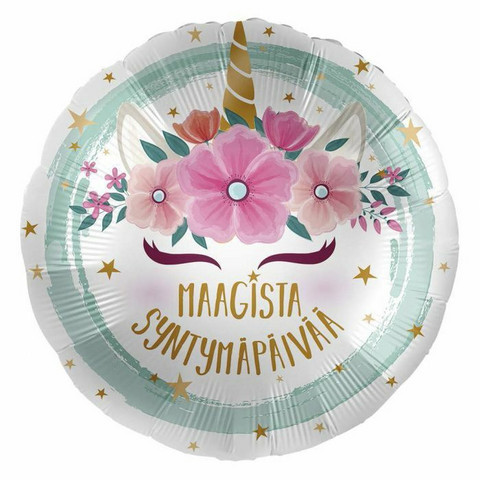 Maagista syntymäpäivää foliopallo