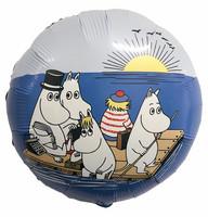 Muumit merellä foliopallo