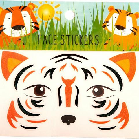 Kasvotarrat tiikeri