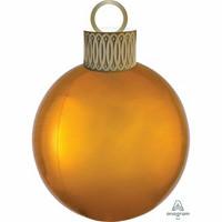 Kultainen joulupallo foliopallo