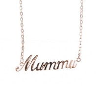 Mummu-tekstikaulakoru