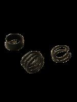 Rustokorut 3kpl/pkt (eri värejä)