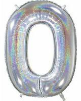 Numerofoliopallo hologrammi 66cm (0-9)