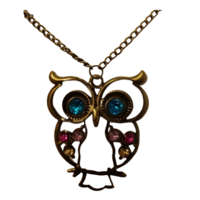 Kaunis pöllö-kaulakoru