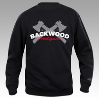 Backwood Hooligans® Kirves College-paita