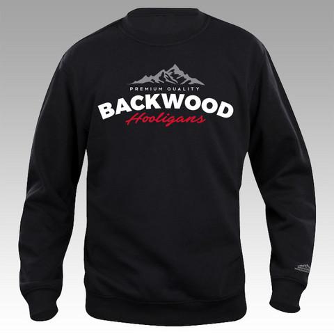 Backwood Hooligans® Vuorilogo College-paita