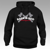 Backwood Hooligas® The Axes hoodie (without zipper)