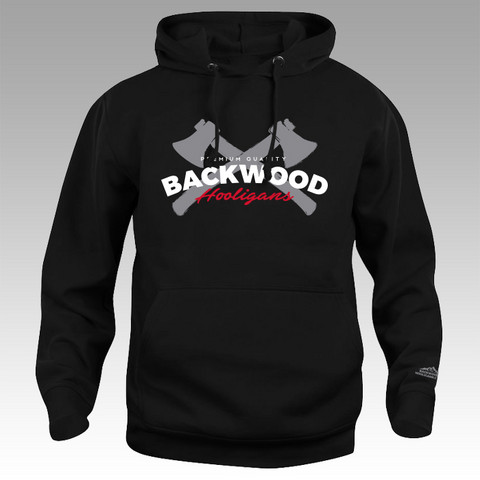 Backwood Hooligas® The Axes hoodie (without zipper)