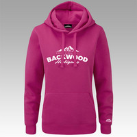 Backwood Hooligas® The Mountain hoodie wihtout zipper for ladies