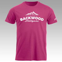 Backwood Hooligans® Pink T-shirt