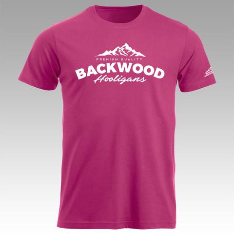Backwood Hooligans® Pink T-shirt