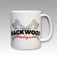 Backwood Hooligans® Coffee mug (axes)