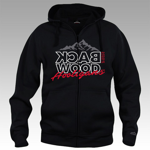 Backwood Hooligas® Cordinate hoodie with zipper
