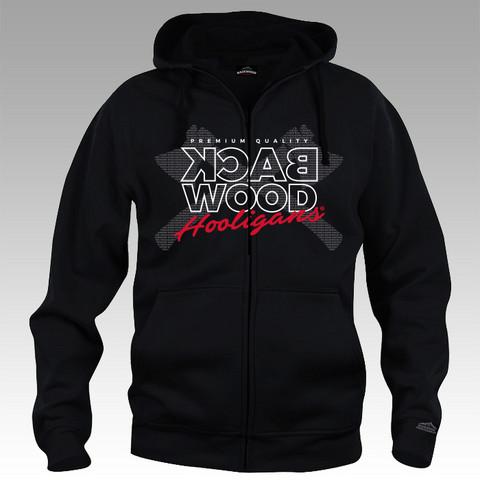 Backwood Hooligas® Digital Axes hoodie with zipper