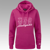 Backwood Hooligas® Thinline hoodie without zipper for ladies