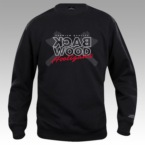 Backwood Hooligans® Digital Axes Sweatshirt