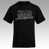 Backwood Hooligans® Thinline Black T-shirt
