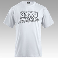 Backwood Hooligans® Thinline White T-shirt