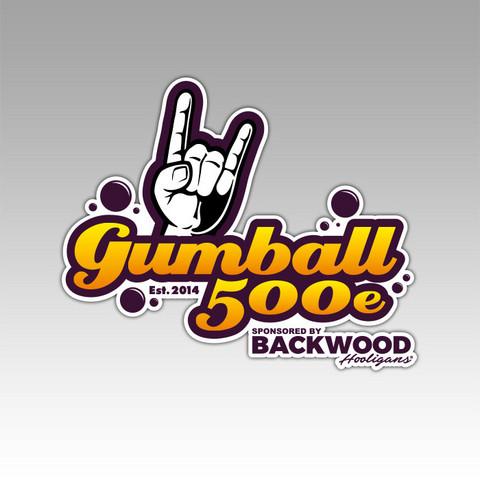 Gumball 500e sticker, 2 pcs (width 12cm)