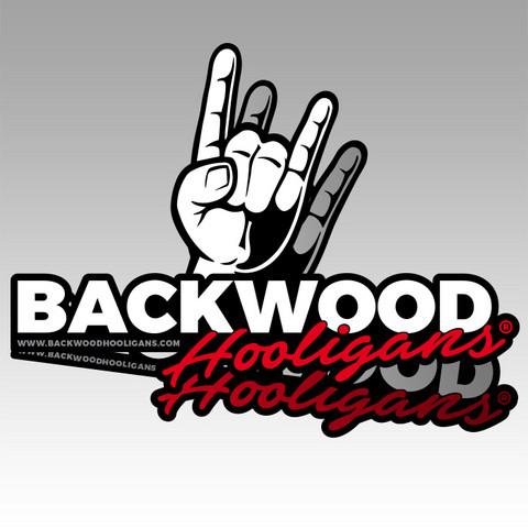 Backwood Hooligans® stickers (2pcs)