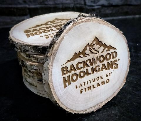 Backwood Hooligans Coasters (4pcs)